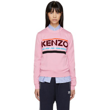 KENZO | Kenzo Pink Kenzo Paris Sweater | Clouty