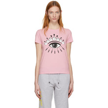 KENZO | Kenzo Pink Eye Logo T-Shirt | Clouty
