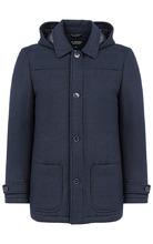 Al Franco | Мужское полушерстяное пальто на синтепоне | Clouty